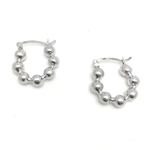 Multi Ball Cuff Earrings (Pair)