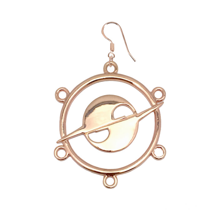 The Haturn Orbit Drop Single Earring