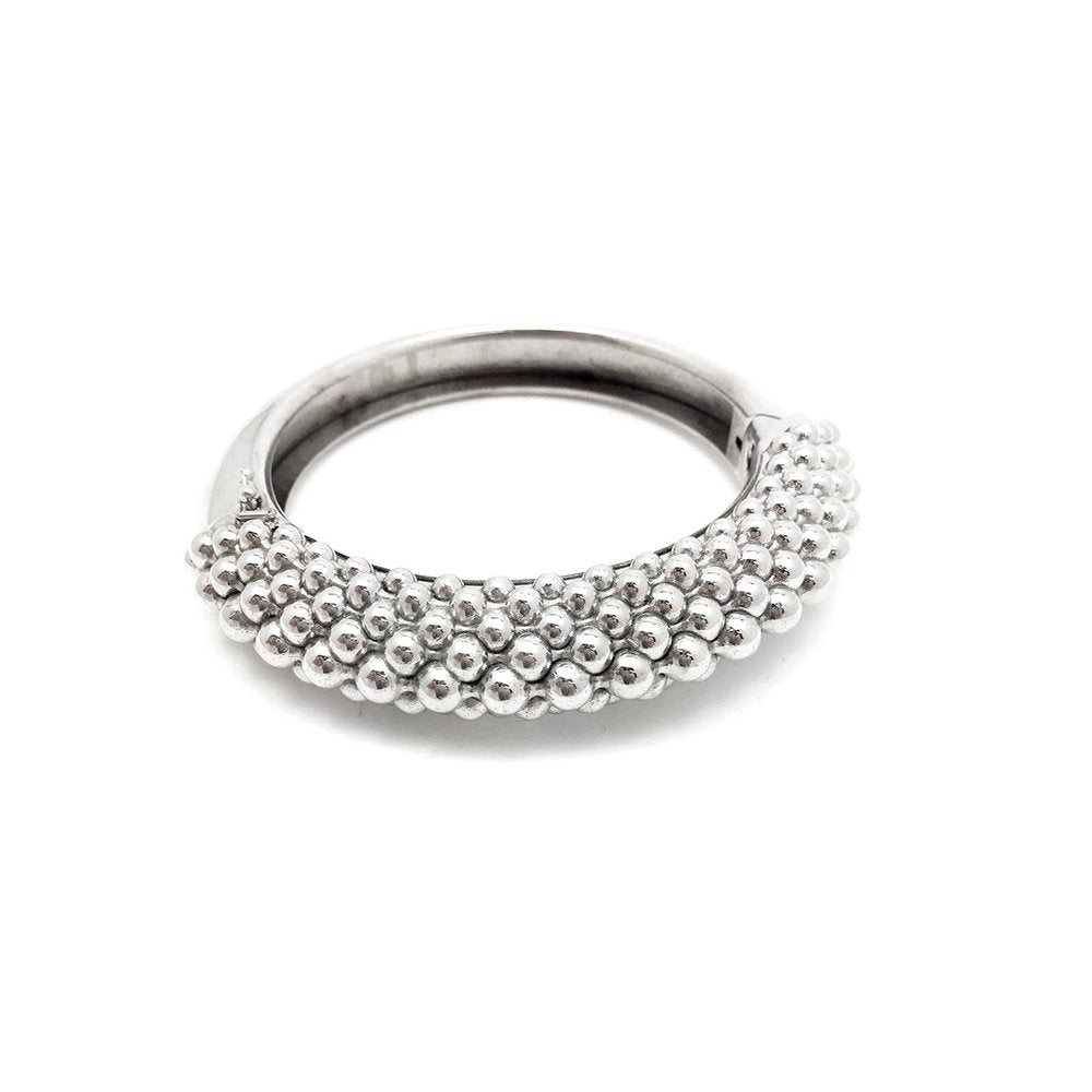 The Graduated Ball Hinged Bangle