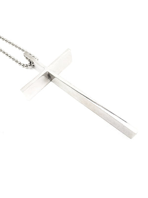 The Oversized Cross Necklace