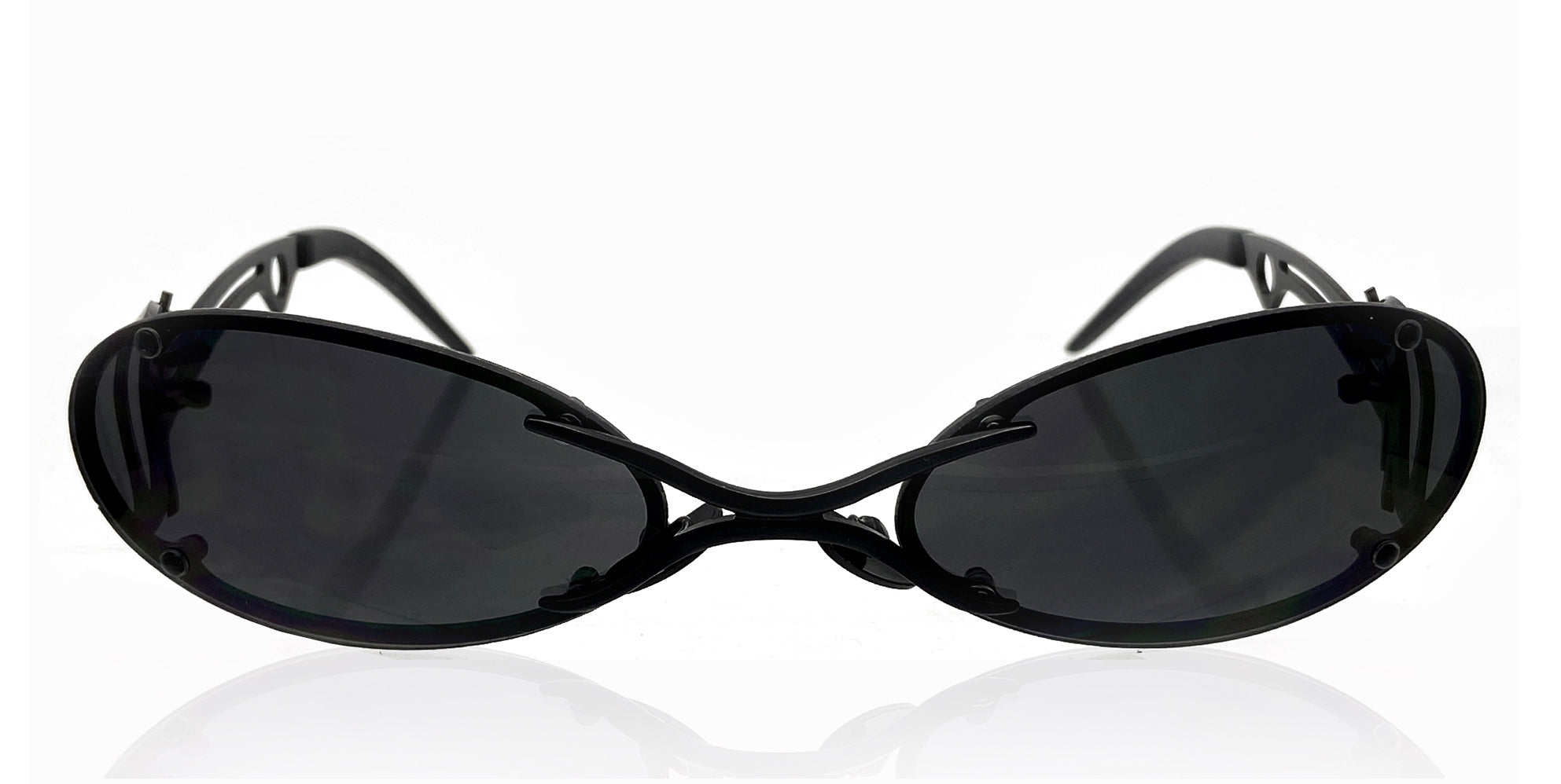 The Sliver Sunglases (Black/Black)
