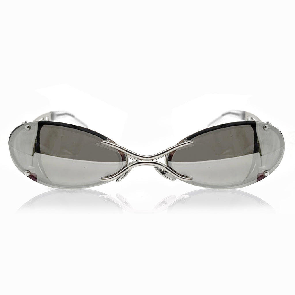 The Sliver Sunglases (Mirror Silver/Silver)