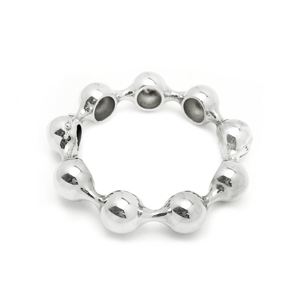 The Oversized Ball Hinged Bangle