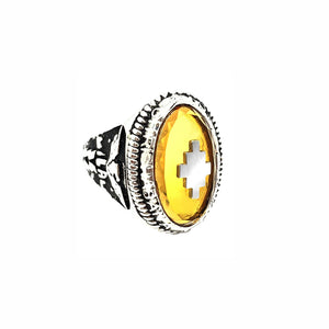 OVERSIZED OVAL CLASS RING