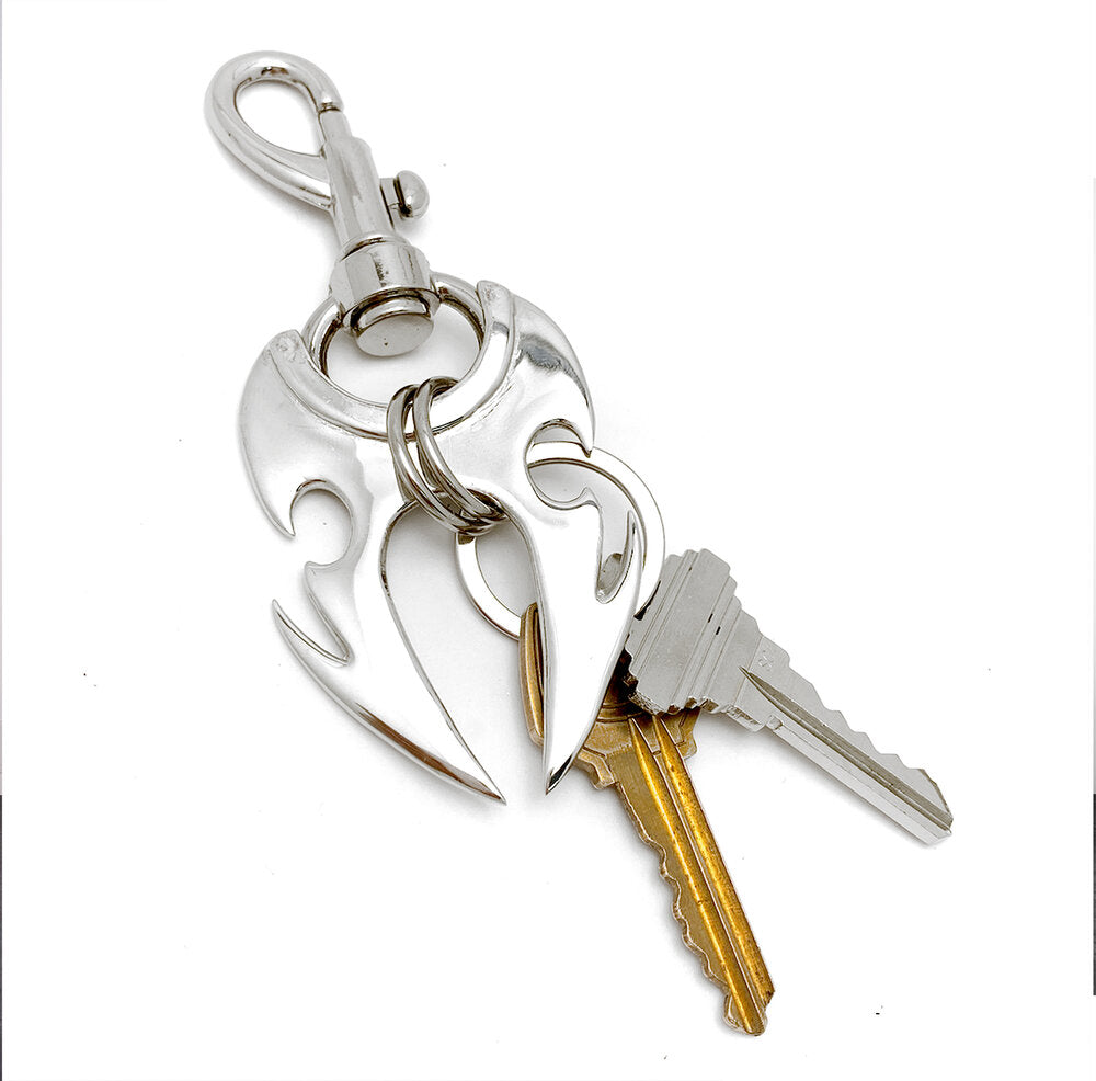 The Tribal Hook Keychain