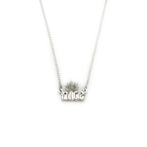 """NICE"" WEED NECKLACE"