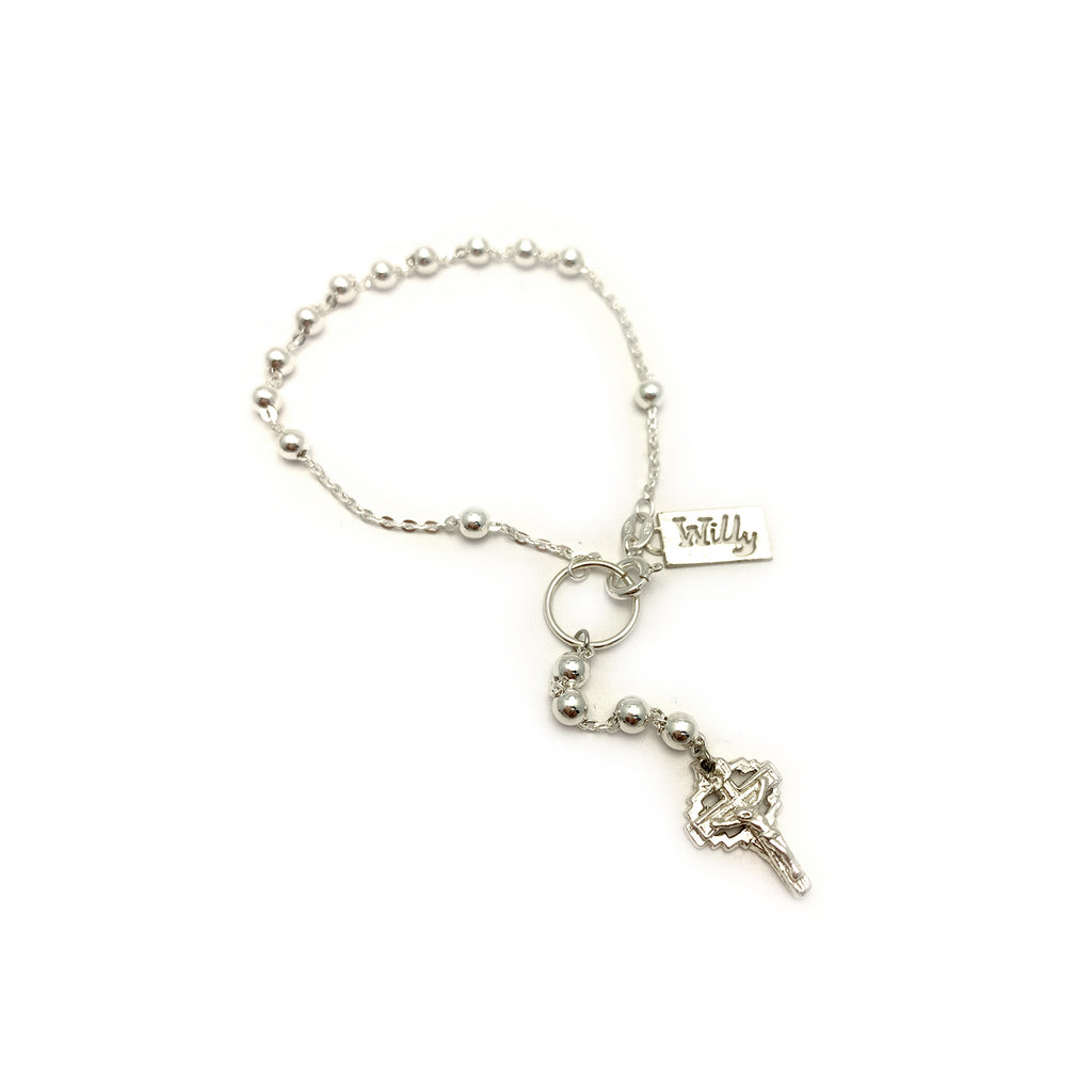 MINI CROSS WRIST ROSARY