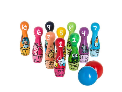 Passover Plagues Bowling Set