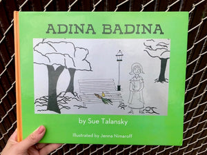 Adina Badina children's book, ideal for ages 5 - 9.