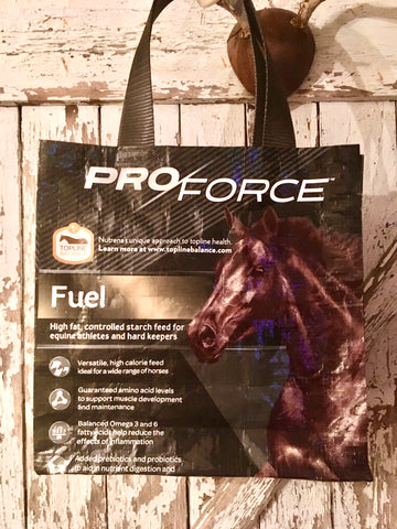 Upcycled Horse Feed Shoulder Bags - Proforce Fuel