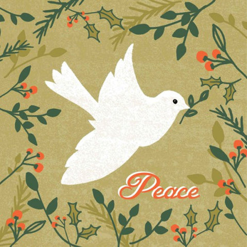 A Message of Peace - Vintage Dove