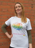 'Love Knows No Borders' Rainbow T-Shirt - Amnesty International Ireland