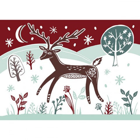 Winter Deer