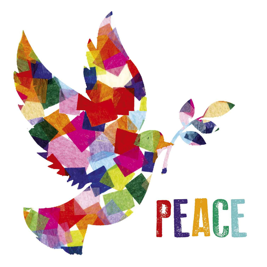 Peace Dove - Multicoloured - Amnesty International Ireland
