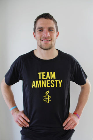 Team Amnesty Technical  Sports T-shirt