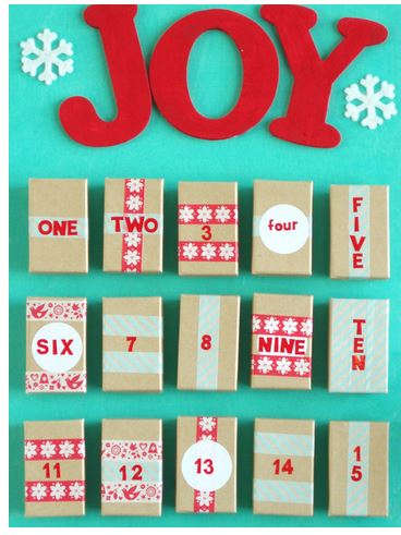 Advent calendar ideas redneck couture create this super cute calendar using recycled jewelry boxes or you can scoop up a pack of assorted sizes at dollar tree and fill them with a mini gift to solutioingenieria Choice Image