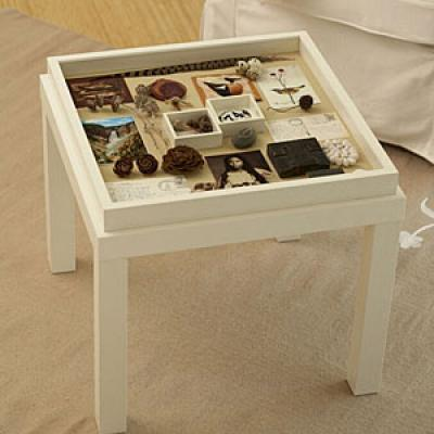 DIY Memory Box Table Redneck Couture