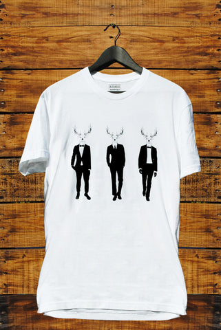 3 Deer in a Suit