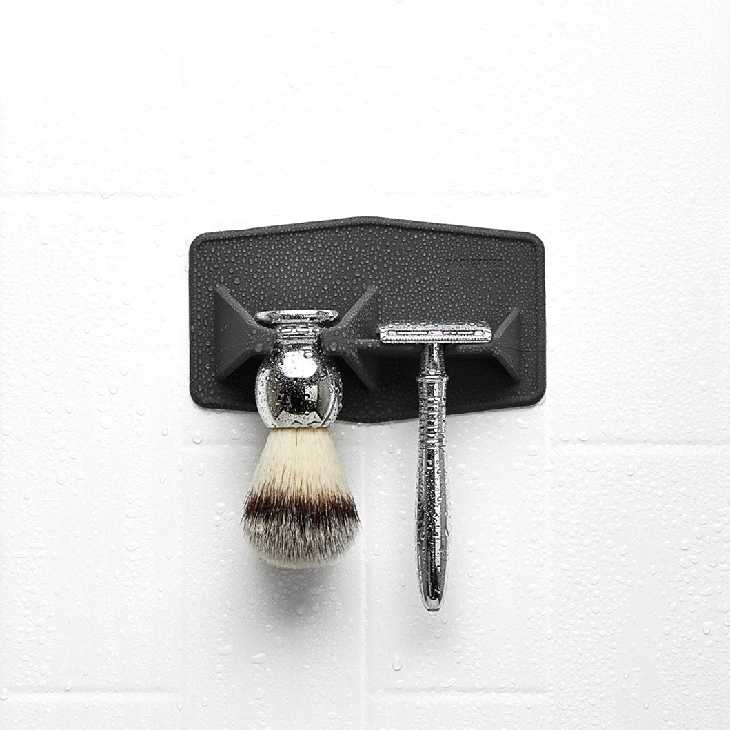 The Maverick | Razor and Brush Rack