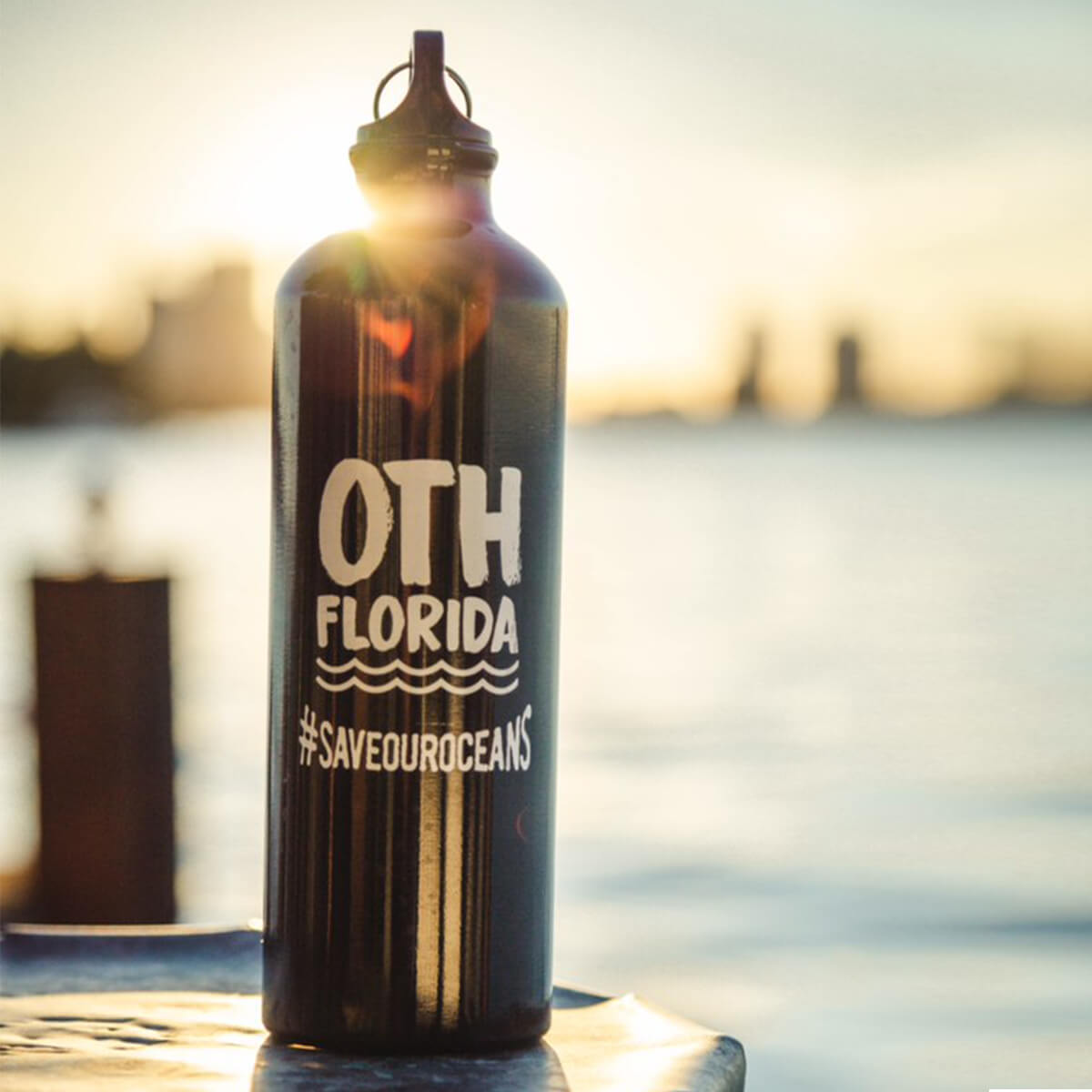 OTHFL Aluminum Water Bottle - Black