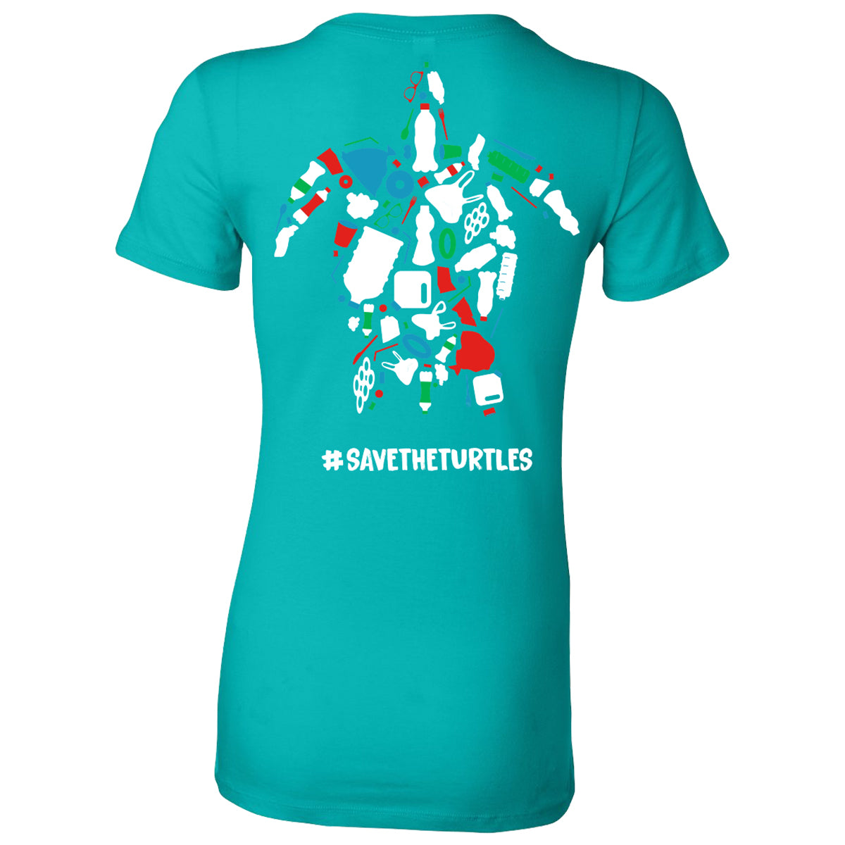 OTHFL Turtle Awareness Women's Teal