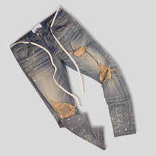 Load image into Gallery viewer, ANGEL WASHED DENIM JEANS