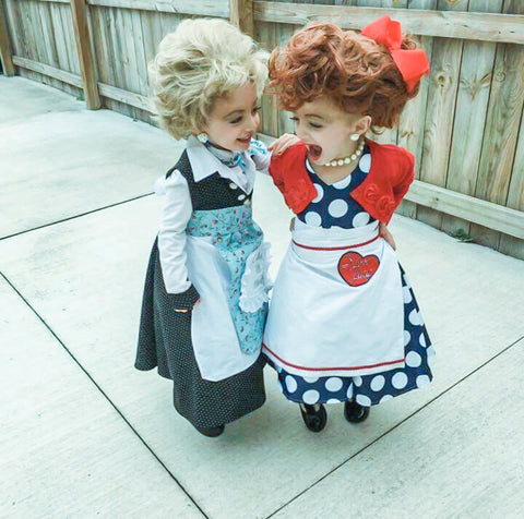 Lucy and Ethel Costumes