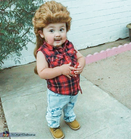 Mullet Baby costume
