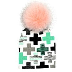 Furry Pom Hats (multiple prints available)