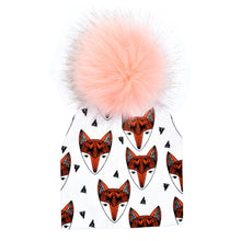 Load image into Gallery viewer, Furry Pom Hats (multiple prints available)