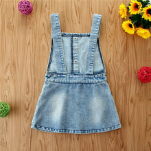 Load image into Gallery viewer, Denim Overall Dress
