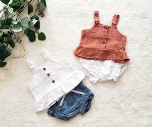 Baby Girl Bummy Bloomers Set (multiple color options)