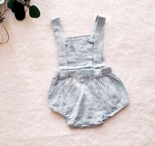 Load image into Gallery viewer, Cotton Overall Bubble Romper (multiple color options)