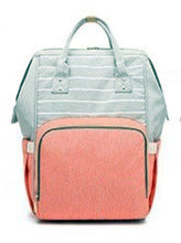 Load image into Gallery viewer, Mommy Backpack Cute Diaper Bag (multiple color options)