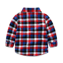 Load image into Gallery viewer, Flannel and Corduroy 2 Piece Outfit