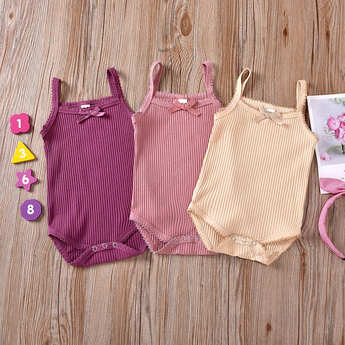 Ribbed Cotton Onesie Tank (multiple color options)