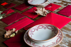 Christmas and Holiday dinnerware