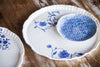 Iris Platter - Handmade Decorated Porcelain Platter