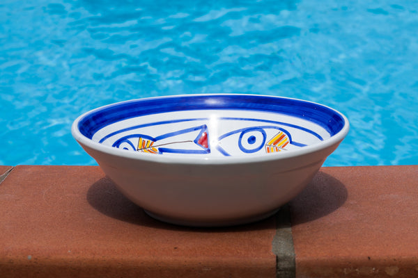 Handmade Ceramic Bowl, Painted Ceramic Bowl, Decorative Ceramic Bowl, Modern Ceramic bowl, Contemporary ceramic bowl,