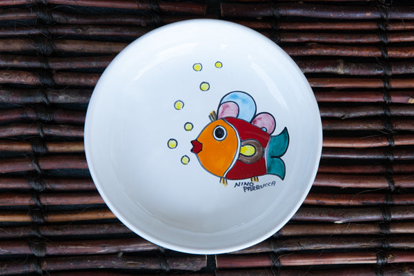 Octo - Hand-Painted Ceramic Soup & Pasta Bowl