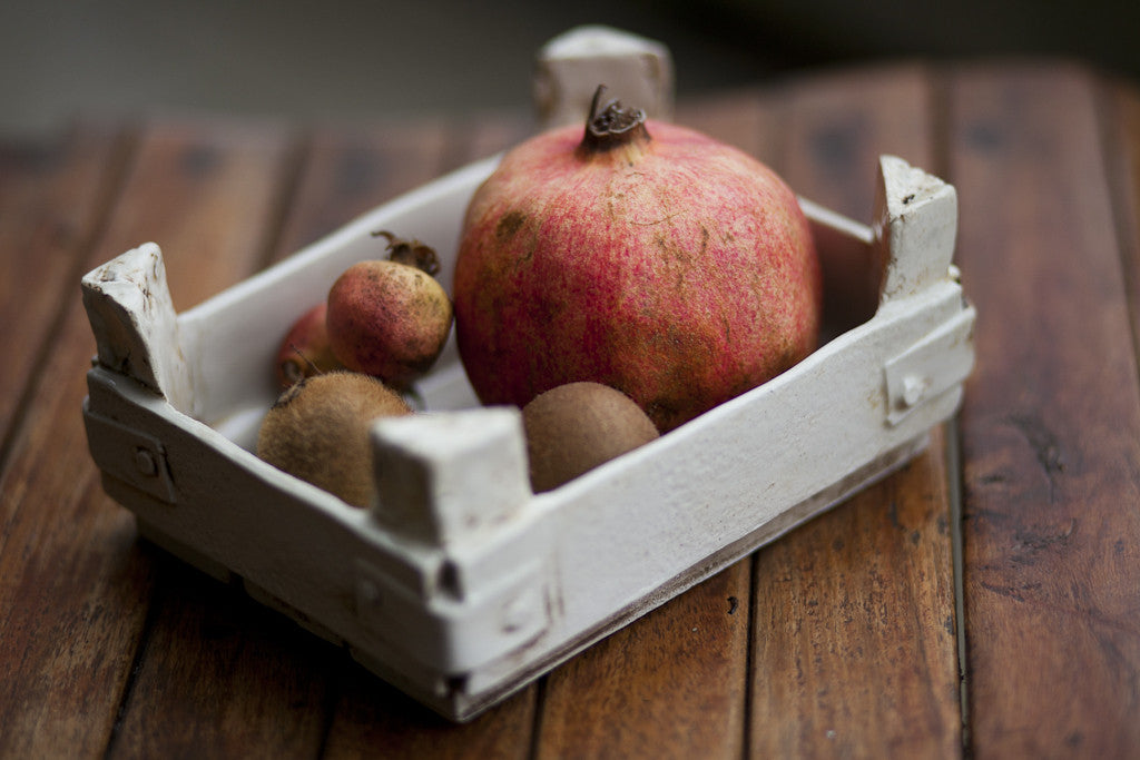 Rustic Fruit and Bread Crate