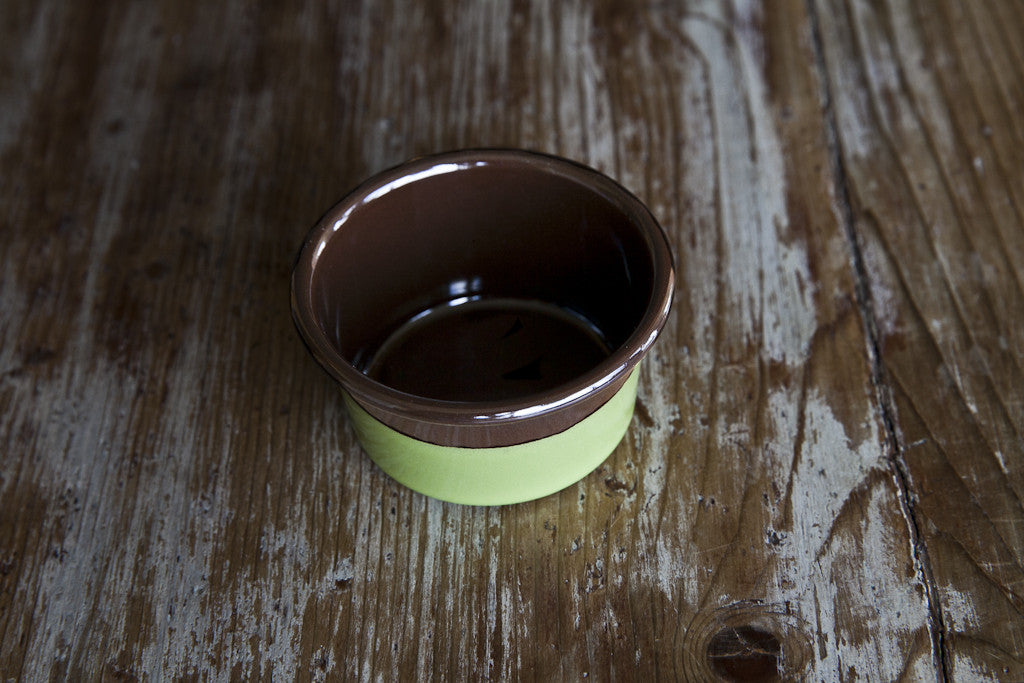 Porcelain Enamel Muffin Cup