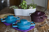 Porcelain Enamel Mini Casseroles