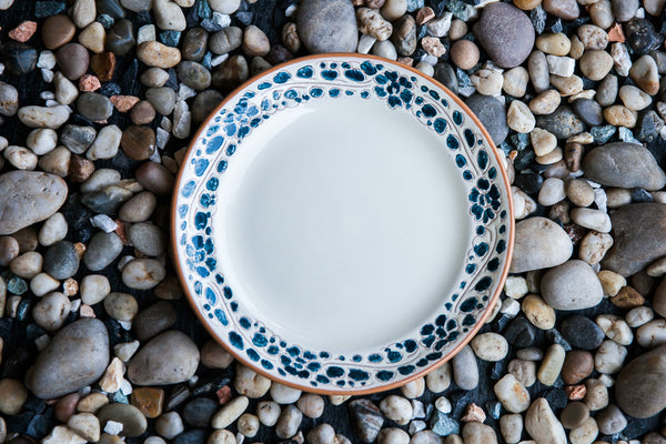 Handmade Ceramic Side Plate Made in Italy