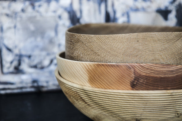 Handmade Wooden Serving Bowls by Alexander Ortlieb