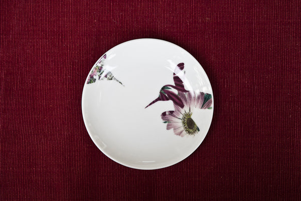 Colibrì-Bird Porcelain Side Plate