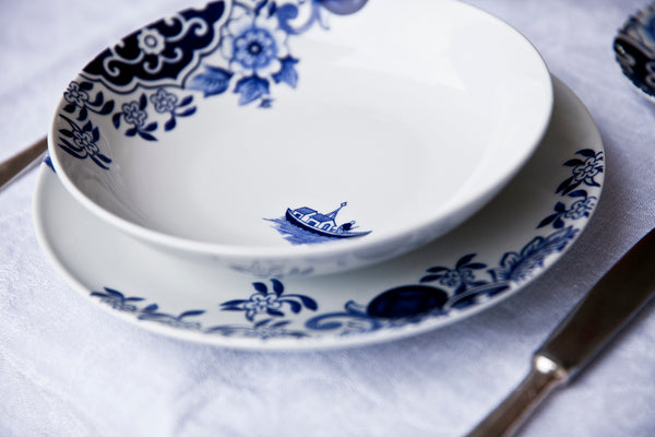 Rapsodia - Willow blue dinner set