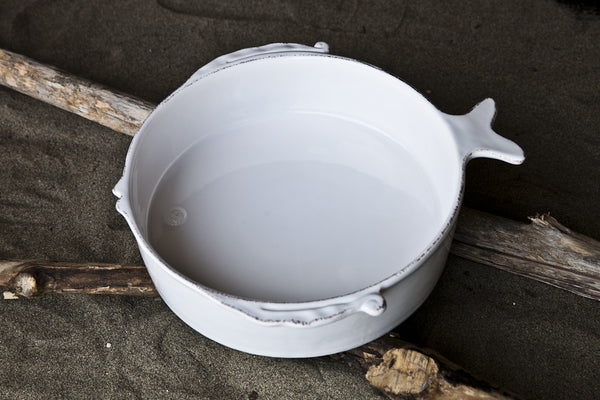 Playful Ceramic Salad Serving Bowl