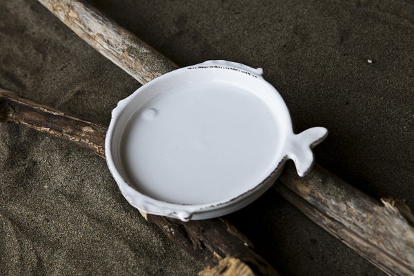 Playful Small Ceramic Side Plate