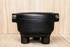 cast-iron casserole with lid